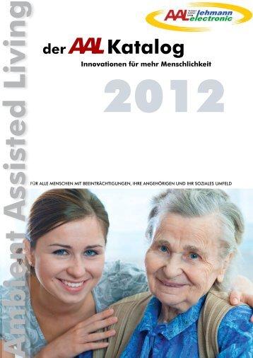 der Innovationen für mehr Menschlichkeit Katalog AAL Ambient ...