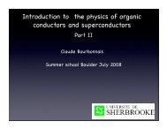 Introduction to the physics of organic conductors and superconductors