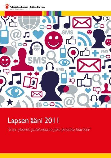 Lapsen ääni 2011 - Pelastakaa Lapset ry