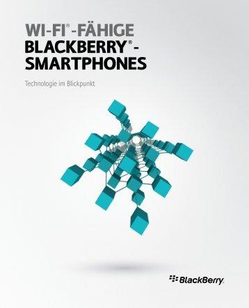 Wi-Fi®-Fähige BlackBerry®- SmartphoneS - wireless & mobile