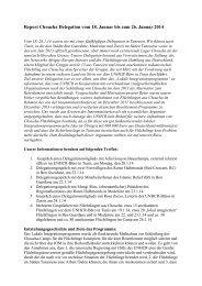Report Choucha Delegation vom 18. Januar bis zum 26. Januar 2014