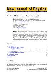 Bloch oscillations in two-dimensional lattices