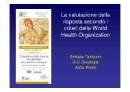 Dr. Emiliano Tamburini - Oncologia Rimini