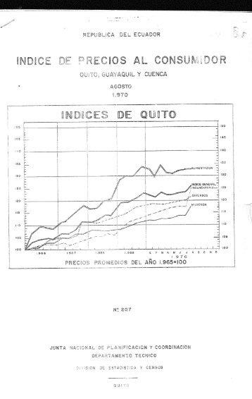 REG 605 INDICE DE PRECIOS 1970.pdf - Repositorio Digital IAEN