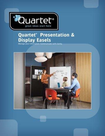 Quartet® Presentation & Display Easels - Net