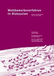2005 Workshop Wettbewerbsverfahren in Diskussion - sia