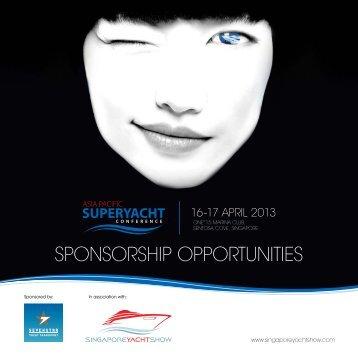 Sponsorship Information - Singapore Yacht Show