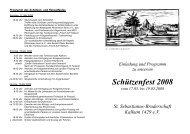 Schützenfest 2008 - St. Sebastianus Bruderschaft Kalkum 1429 eV