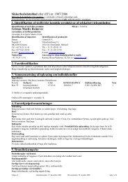 (EF) nr. 1907/2006 1. Identifikation af stoffet/det kemiske produkt og ...