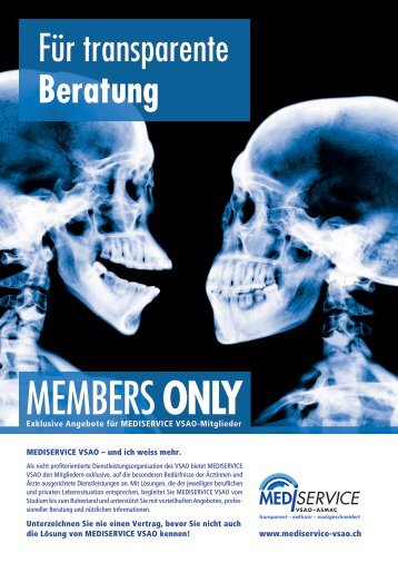 members only - mediservice vsao-asmac