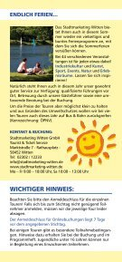 SOMMER- SPROSSEN 22.7.–3.9. - Seite 2