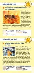 SOMMER- SPROSSEN 22.7.–3.9. - Seite 5