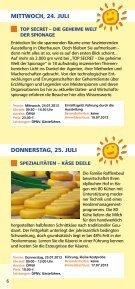 SOMMER- SPROSSEN 22.7.–3.9. - Seite 6