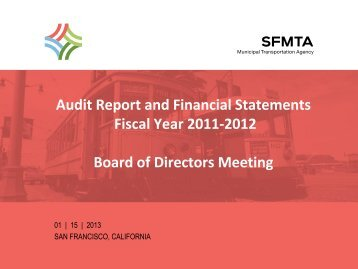 Audit Report and Financial Statements Fiscal Year 2010-2011 ...