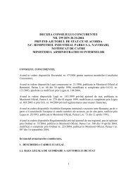 decizia consiliului concurentei nr. 295 din 28.10.2004 privind ...