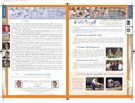 NUPinfo 049. szám - 2006. november - Nemzeti Sport Intézet