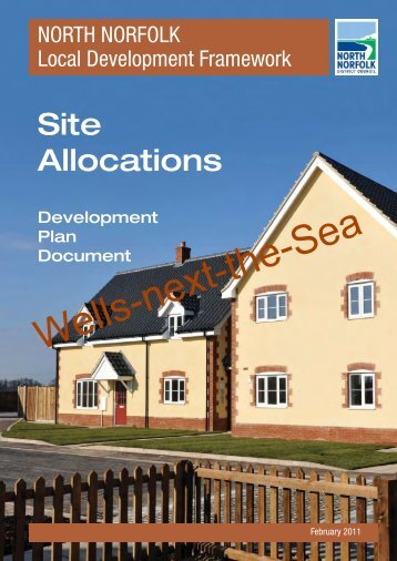 Site Allocations Plan - Wells-next-the-Sea - North Norfolk District ...
