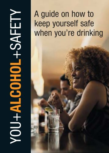 You, alcohol and safety - Community Relations