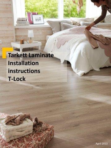 Tarkett Laminate Pro Installation instructions 2-Lock