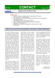 Contact Newsletter - Holy Name Province