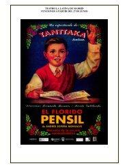teatro la latina de madrid funciones a partir del 27 de junio