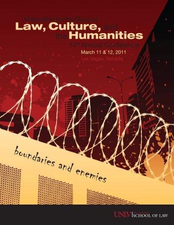2011 Conference Program (PDF) - Syracuse University College of Law