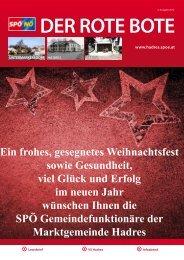 Der rote Bote - Hadres - SPÖ