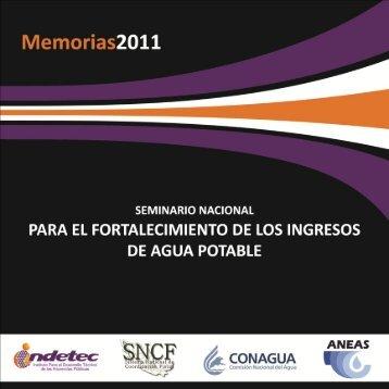 Memoria del seminario nacional para el fortalecimiento de ... - Indetec