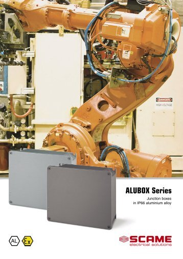 ALUBOX Series - Scame Parre S.p.A.