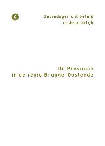 De Provincie in de regio Brugge-Oostende - Provincie West ...