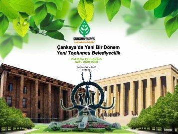 Yeni Toplumcu Belediyecilik - Türkiye Sağlıklı Kentler Birliği