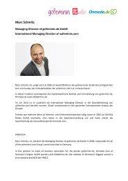 Marc Schmitz - bei der gofeminin.de GmbH!