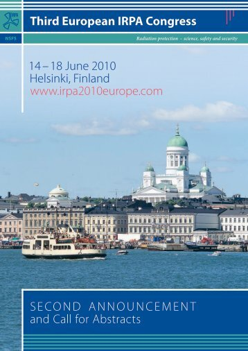 Second Announcement and Call for Abstracts - Third European ...