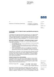 Lovforslag L 217 vil lede til større partikelforurening fra ... - Folketinget
