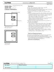 International SeeTouch QS Keypad - Lutron Lighting Installation ...