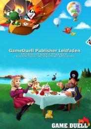 Publisher-Handbuch - GameDuell