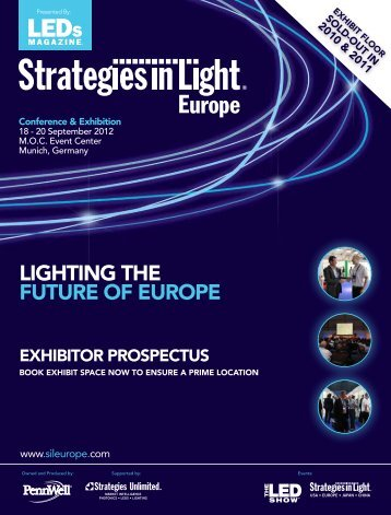 lIgHTINg THE FUTURE OF EUROPE - Strategies in Light Europe