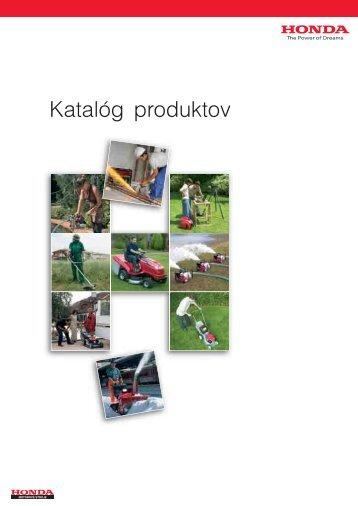 Katalóg HONDA - Štýl-Ivanov, sro