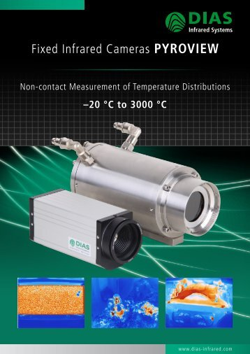 Overview infrared cameras PYROVIEW - DIAS Infrared Systems