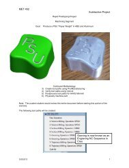 Paperweight Tool Path Generation Instructions