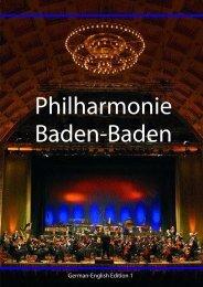 German-English Edition 1 - Philharmonie Baden-Baden