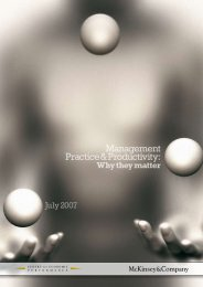 Management Practice and Productivity: Why They Matter