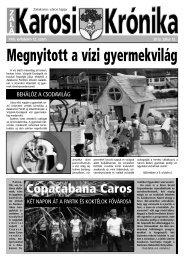 2012. július 12-i szám - Zalakaros