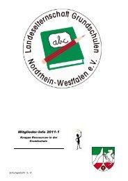 infoheft_2011_1-1 - Landeselternschaft der Grundschulen in NRW