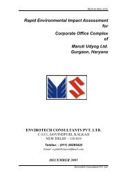 Rapid Environmental Impact Assessment for Corporate Office ...
