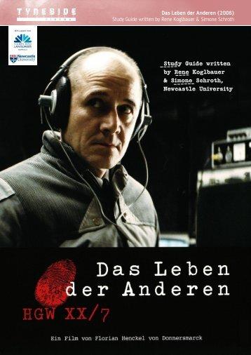 Das Leben der Anderen (2006) - Routes Into Languages