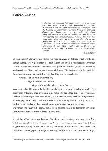 Röhren-Glühen - STORY DEALER BERLIN