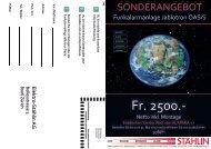 Sonderangebot Funkalarmanlage Jablotron OASiS - Stählin AG