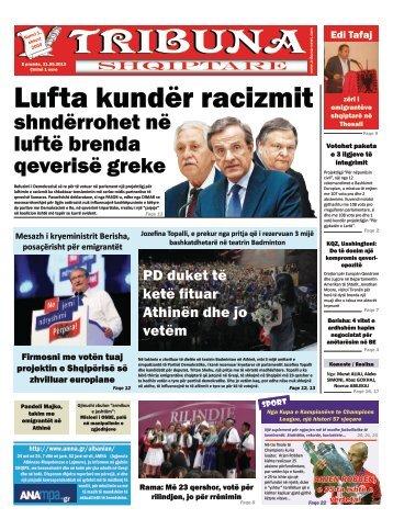 Lufta kundër racizmit - Tribuna News