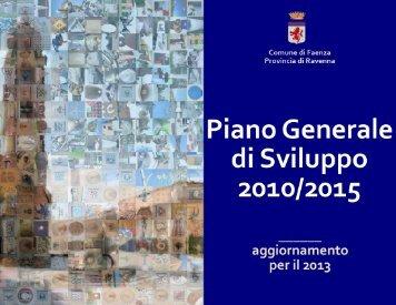 aggiornamento 2013 - Comune di Faenza